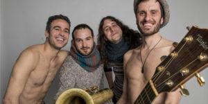 BARCELONA. 18.02.2014 El grupo STROMBERS graba un acustico en el estudio de el Periodico. FOTO FERRAN SENDRA
